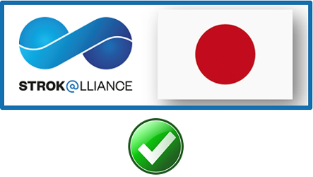 STROK@LLIANCE – now a registered trademark in Japan